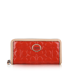 Coach Continental Patent Leather Wallet