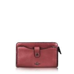 Coach Pop Up Messenger in Colorblock Leather Wallet