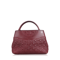 Tory Burch Quilted Logo Bag