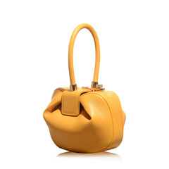 Gabriela Hearst Demi Yellow Bag