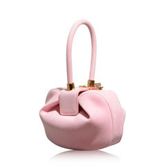 Gabriela Hearst Demi Powder Pink Suede Bag