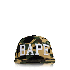 A Bathing Ape 1st Camo Bordier Hat in Green