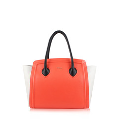 Furla College Large Leather North South Tote