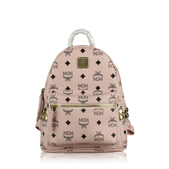 MCM Star Backpack in Pink
