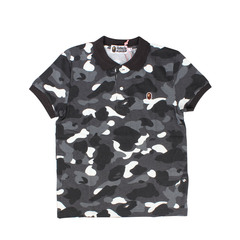 A Bathing Ape 1st Camo Big Ape Head One Point Polo