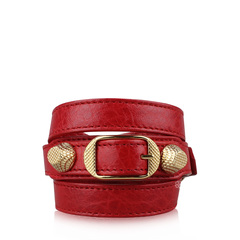 Balenciaga Red Triple Tour Bracellet