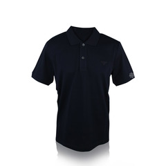 Prada Blue Polo W Logo Men's T Shirt