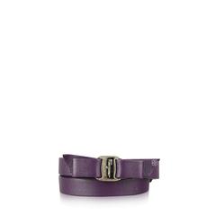 Salvatore Ferragamo Vara Leather Bracelet