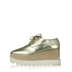 Stella McCartney Elyse Shoes Pale Gold