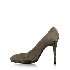 Stuart Weitzman Brown Pump Shoes
