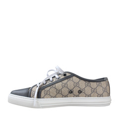 Gucci California Low GG Canvas Sneakers in Beige/Grey