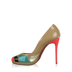 Christian Louboutin Astrogirl 120 Patent Fluo