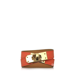 Hermes Kelly Double Tour Bracelet Leather
