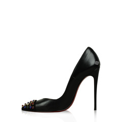 Christian Louboutin So Kate Pigalle Stud Spike Multicolor Pumps