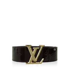 Louis Vuitton Belt Vernis Amarante