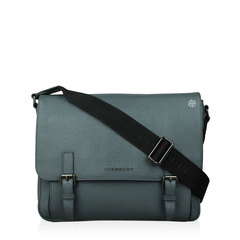 Burberry London Leather Ellison Small Messenger