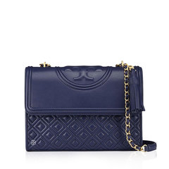 Tory Burch Flemming Medium 27 cm Royal Navy
