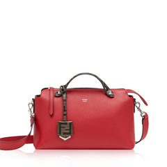 Fendi Small BTW in Fragola FF Logo Handle