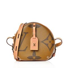 Louis Vuitton Boite Chapeau Souple Monogram Reverse Canvas