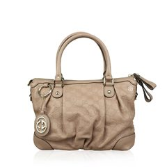 Gucci Guccissima Sukey Top Handle Bag Dusty Rose