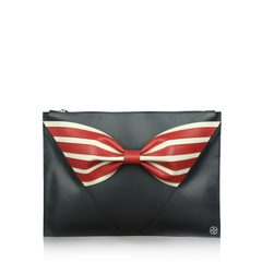 Red Valentino Ribbon Clutch
