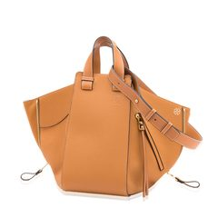 Loewe Medium Hammock Bag in Light Caramel