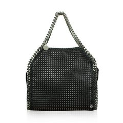 Stella Mccartney Medium Falabella' Studded Faux Leather Tote