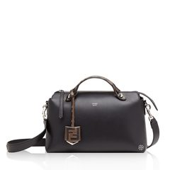 Fendi Small By The Way in Black with FF Logo Handle