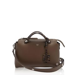 Fendi Small By The Way in Brown with FF Logo Handle
