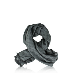 Gucci Scarf GG WEBBING Dark Grey  #2