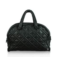 Chanel Hidden Chain Lambskin Leather Tote Bag