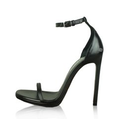 Saint Laurent Classic Jane Black Sandal High Heels