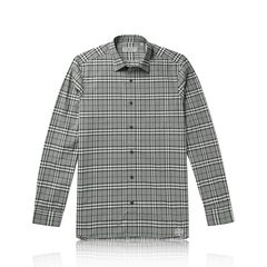 Burberry	Alexander Check Shirt in Charcoal