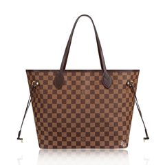 Louis Vuitton	Damier Neverfull MM in Cherry