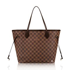Louis Vuitton	Damier Neverfull MM in Rose Ballerine
