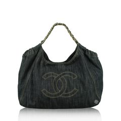 Chanel	Denim Coco Cabas Tote