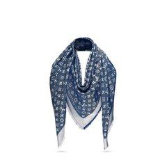 Louis VuittonMonogram Denim Shawl