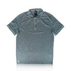 Hugo Boss	Polo Shirt Pattern Jersey in Blue