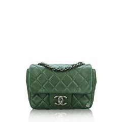 ChanelMini Square Flap Quilted Lambskin