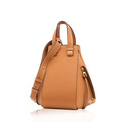 Loewe	Small Hammock DW Bag in Light Caramel