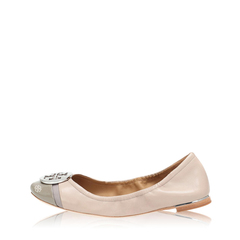 Tory Burch	Minnie Cap Toe Taupe