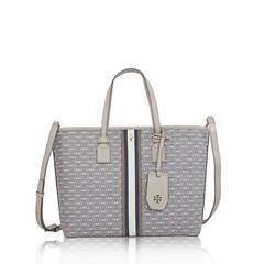 Tory Burch	Gemini Link Small Tote with Strap Grey