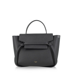 Celine	Micro Belt Bag in Black Grained Leather