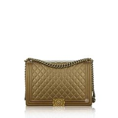 Chanel	Large Boy In Gold