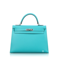 Hermes	Kelly 32 Green Malachite