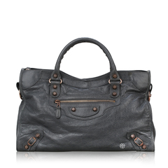 Balenciaga	Classic City in Grey RGHW
