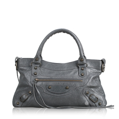 Balenciaga	Small Classic City in Grey