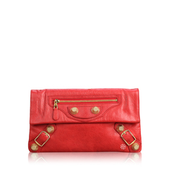 Balenciaga	Envelope Red in GHW