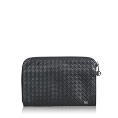 Bottega Veneta	Intercciatto Clutch in Black