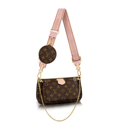 Louis Vuitton	Monogram Multi Pochette Bag in Brown